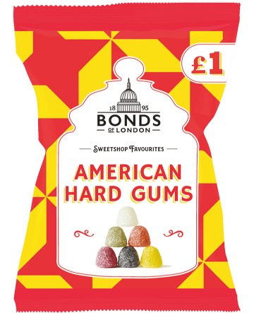 Sweetshop Favourites American Hard Gums £1