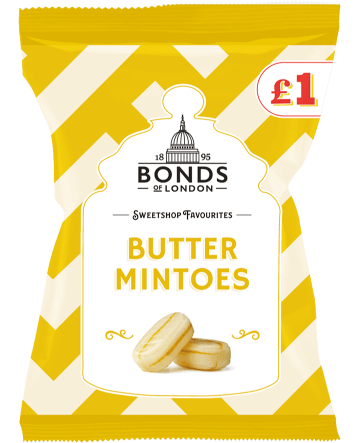 Sweetshop Favourites Butter Mintoes £1