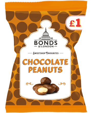 Sweetshop Favourites Chocolate Peanuts £1